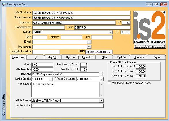 2073b31826ddc1 Software para Loja de Roupas IS2 - Sem Mensalidade - Ilimitado